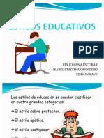 EXPOSICION ESTILOS EDUCATIVOS