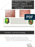 Chronic Urticaria in Children