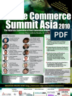 Mobile Commerce Summit ASIA Brochure - SANDRA
