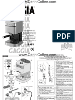Manual Cafetera Babynew Er0156 User Manual