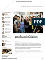 31-01-18 - Crítica - Innova Gobernadora Pavlovich en distribución de créditos educativos