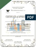 Seminar 3 Speaker Certificate Tugade