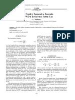 Barometric Formula