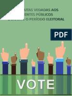 Cartilha Condudatas Vedadas Aos Agentes Públicos - Eleições 2018
