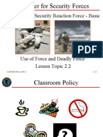 2.2 Use of Force as-srf-b (Rev-A, Ch-1) 28apr08