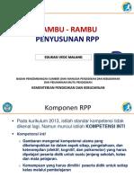 1. Rambu-Rambu Penyusunan RPP