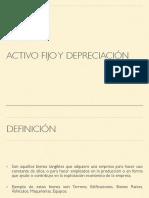 AF y Depreciación