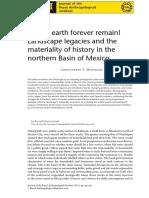 Let the Earth Forever Remain Landscape l