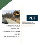 Talkeetna Public Library-Master Plan Report 5/30/2017
