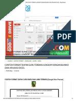 331336393 Contoh Format Dupak Guru Terbaru Lengkap Dengan Blanko Dan Aplikasi Excel Blog Edukasi PDF