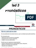 Unidad 03 Pronósticos