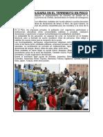 Situación Solidaria en El Terremoto en Pisco