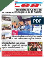 Periódico Lea Jueves 15 de Marzo Del 2018
