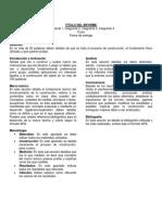 Pauta - Informe de Laboratorio