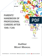 Parents' Handbook of Careers After School