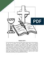 Dibujo de Semana Santa y Descripcion