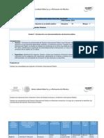 Planeación Didáctica Derecho Internal Publico Unidad 1