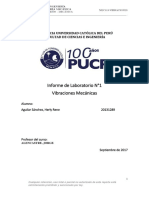 Informe de Laboratorio Vibraciones Mecanicas Rene Aguilar
