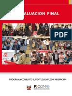 Programa Conjunto JEM Evaluacion Final