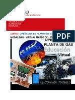 Cursos de Operaciones en Gas Natural