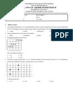Soal Ujian Tema 9