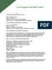 31201532 Contoh Surat Perjanjian Jual Beli