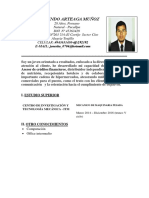 Cv.jose Vendeor