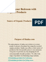 Organic Furnishing Products