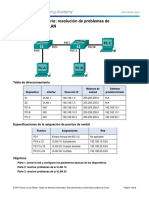 3.2.4.9 Lab - Troubleshooting VLAN Configurations.docx