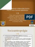 ¿Qué Es Socioantropologia?
