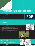 Mecánica de Lesión