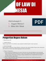 Rule of Law Di Indonesia