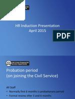 A Induction HR Presentation April 2015