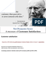 4B-SM- Customer Satisfaction and NPS as a Measure of C-SAT