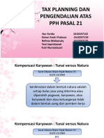 TAX PLANNING DAN PENGENDALIAN ATAS PPH PASAL 21.pptx