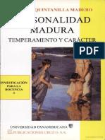 PERSONALIDAD MADURA