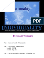 2. Personality