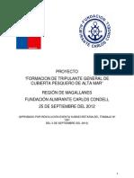 Informe Inicial Tripulante PAM Condell PAC 051020122