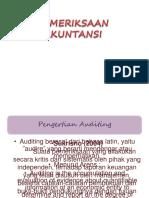 PPT bab I Auditing Pemeriksaan Akuntansi