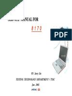 8170 ServiceManual