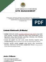 Pengelolaan E Waste Bali
