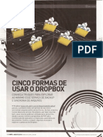 Cinco Formas de Usar o Dropbox