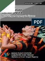 Kabupaten Aceh Tengah Dalam Angka 2017