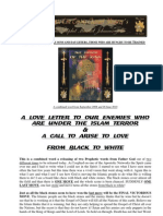 Love Letter to Our Enemies-September - combined Word from God from 2008 and 26 June 2010