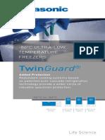 Panasonic TwinGuard ULT Freezers Overview Brochure 1516632086