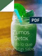 Zumos Detox