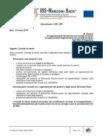 295DIR-CdC Convocazione Consigli Classe Aprile 2018
