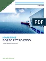 DNV GL ETO-2017 Maritime Forecast to 2050