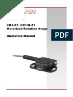 CR1 Z7 Manual