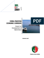 CPEC Impacts on Baluchistan